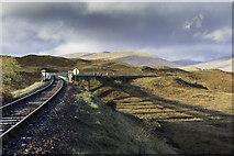 NN4258 : Rannoch Viaduct by Peter Moore