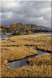 NN3766 : View towards Loch Ossian by William Starkey