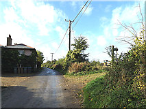 TM3864 : Rosemary Lane & footpath by Adrian Cable