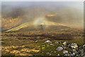 NN4166 : Brocken spectre above Coire Creagach by William Starkey