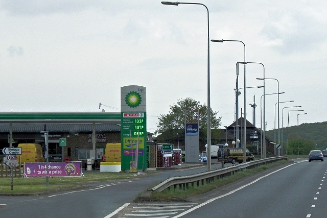 Service Area, Thanet Way