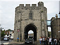 TR1458 : West Gate, Canterbury by Graham Robson