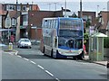 TR1667 : Bus Stop on Sea Street by David Dixon
