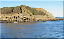 TA0390 : Headland at the end of the promenade by Pauline E