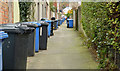 J3978 : Wheelie bins, Holywood by Albert Bridge