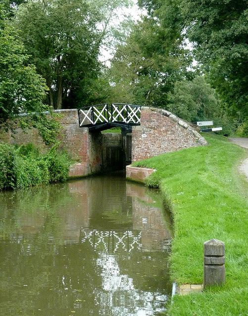 Dick's Lane Bridge south of Kingswood, Warwickshire