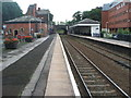SJ7578 : Knutsford railway station, Cheshire by Nigel Thompson