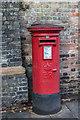 TF6119 : Postbox, Priory Lane, King's Lynn, Norfolk by Christine Matthews
