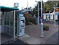 SO4593 : Cashless ticket machine at Church Stretton railway station by Jaggery