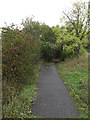 TM1244 : Footpath to Church Lane & Sproughton Church by Adrian Cable