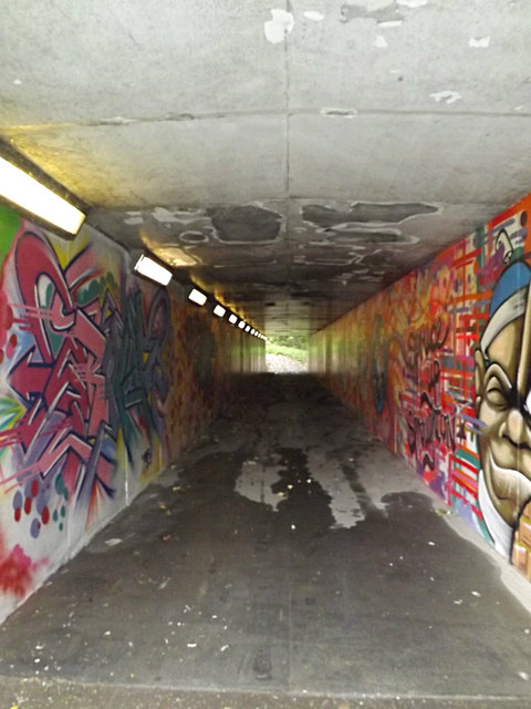 Subway under the A14
