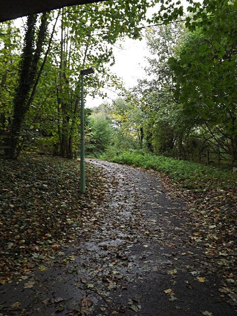 Footpath to Church Lane & Sproughton Church