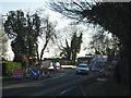 SP2763 : Single-file traffic over Fisher's Bridge, Stratford Road by Robin Stott
