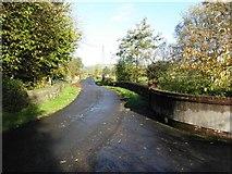 H4681 : Bridge along Tirmurty Road by Kenneth  Allen