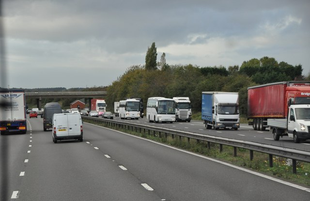 Stafford District : The M6 Motorway