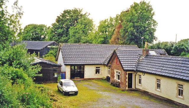 Former Kirkandrews station, 2002