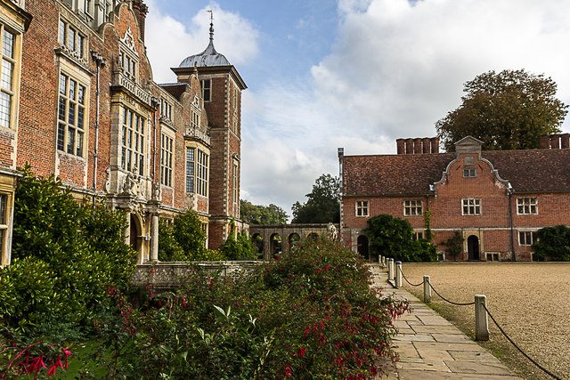 Entrance to Blickling Hall, Norfolk