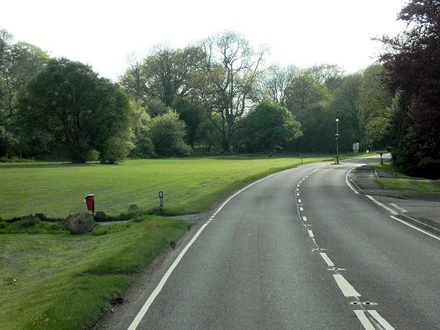 A252 (Canterbury Road), Challock