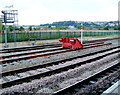 ST5972 : Red buffer stop at Bristol Temple Meads railway station by Jaggery