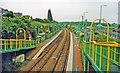 SK5056 : Kirkby-in-Ashfield new station, Robin Hood new line, 2000 by Ben Brooksbank