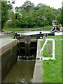 SP1870 : Lock No 22 at Kingswood Junction, Warwickshire by Roger  Kidd