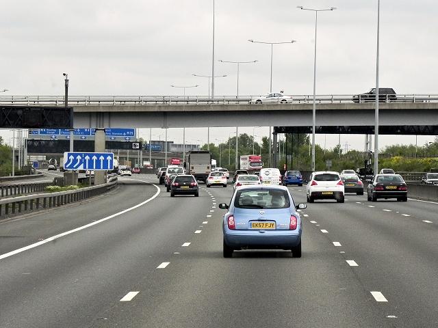 M25 near Heathrow © David Dixon :: Geograph Britain and Ireland