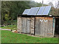 SE8288 : Solar Powered Hen Hut at Farwath by Peter Wood
