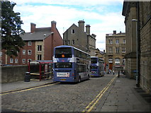 SE2627 : Buses on Wellington Street, Morley by Richard Vince