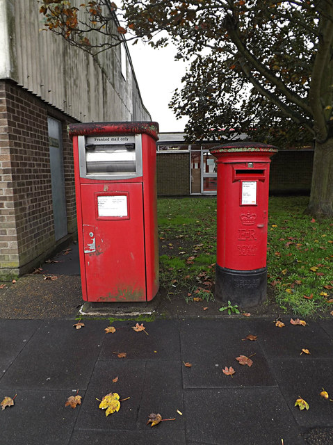 Hadleigh Road Industrial Estate Postboxes
