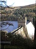 SK1789 : Dam on the Upper Derwent Reservoir by jeff collins