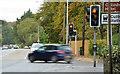 J4180 : Traffic lights, Cultra by Albert Bridge