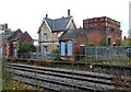 ST7292 : Former Charfield station buildings by Jaggery