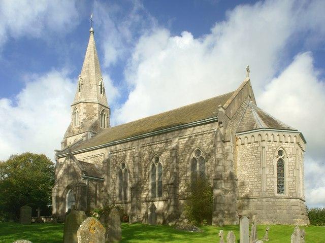 The church of Holy Trinity at Bardsea