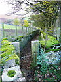 SE0510 : Gate on the footpath from Binn Road to Owlers End by Humphrey Bolton