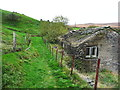 SE0510 : Ruined cottages at Binn House by Humphrey Bolton