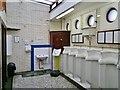 TA0928 : Pier head toilets, Hull by Chris Morgan