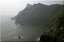 NA0900 : The northern cliffs of Hirta by Julian Paren
