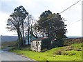 NZ0449 : Tumble down shack by Shield Farm by Oliver Dixon