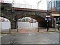 SJ8397 : First Street Arch by David Dixon