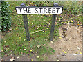 TM0944 : The Street sign by Adrian Cable