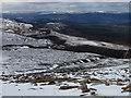 NH9905 : Heading down Cairngorm by Hugh Venables