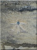 SE1039 : Ordnance Survey Cut Mark with Bolt by Peter Wood