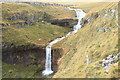 SD9369 : Waterfall, Cote Gill by Colin Gregory