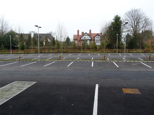 College car park
