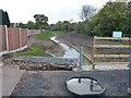 SK5501 : Lubbesthorpe Brook Flood Alleviation Scheme by Mat Fascione