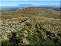 SE0076 : Descending off the Great Whernside Massif by Chris Heaton