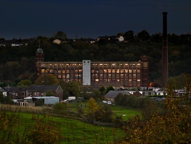 Evening Shift at Prestolee (Kearsley) Mill