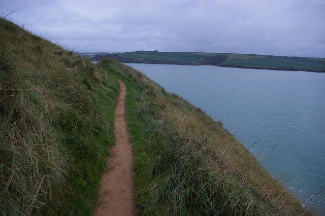 Path around Brea Hill