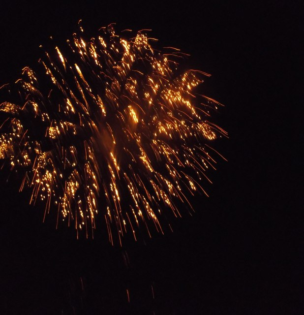 One of the Chatham bonfire night fireworks