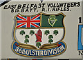 J3573 : 36th (Ulster) Division mural, Willowfield, Belfast (3) by Albert Bridge